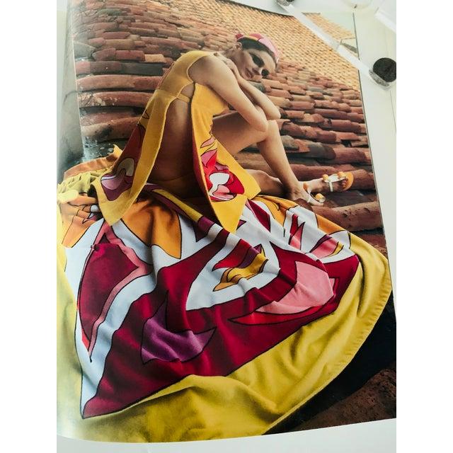 "This is a stunning Pucci Fashion Design Book. Vintage Fashion Design Book titled ""Emilio Pucci: Biennale di Firenza,..."