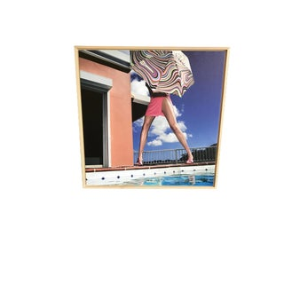 "Nicola Majocchi ""Umbrella With Legs"" Photograph 2003 St. John, v.i. For Sale"