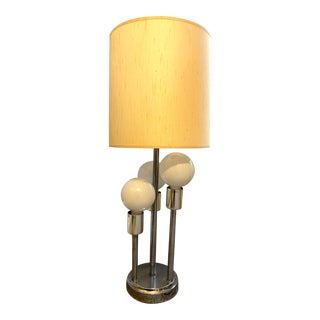 1970s Mid Century Modern Orb Lamp For Sale