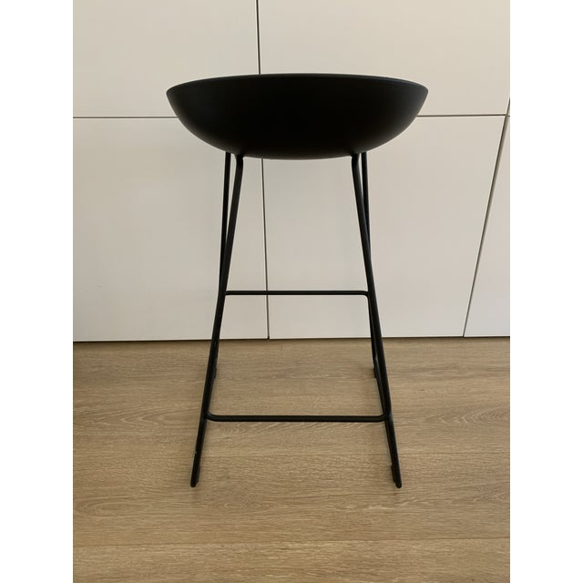 Modern Hee Welling for Hay Black Danish Counter Stool For Sale - Image 3 of 6