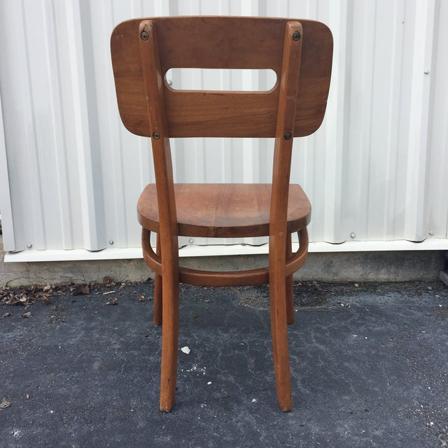 Mid-Century Walnut Chair by Boling Chair Company - Image 5 of 9