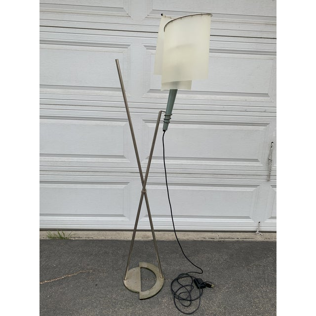 Memphis Spiral Torch Lamp For Sale - Image 11 of 11