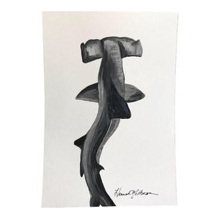 Swaying Hammerhead Print by Hannah McPherson For Sale