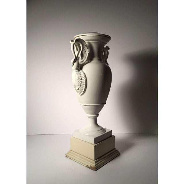 Pair of Large Limoges White Porcelain Table Lamps For Sale In Chicago - Image 6 of 13