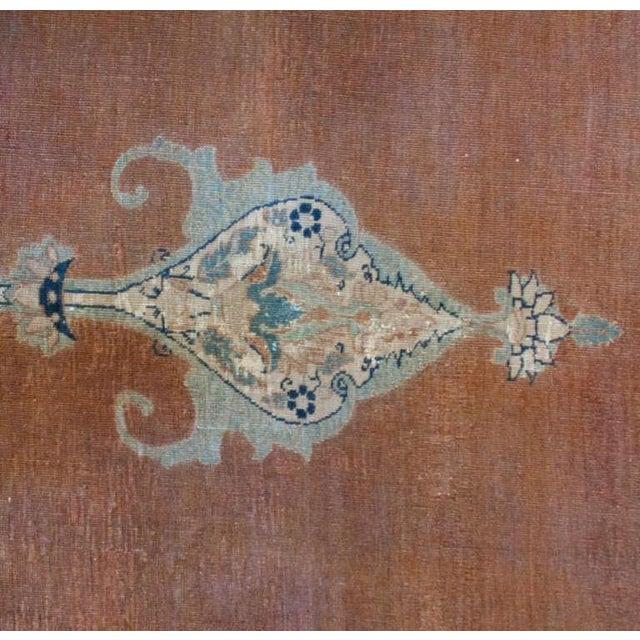 "Islamic 19th Century Persian Haji Jalili Tabriz Rug - 9'2"" x 13' For Sale - Image 3 of 5"