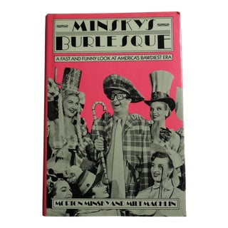 "Vintage ""Minsky's Burlesque"" Bawdy Entertainment Book For Sale"