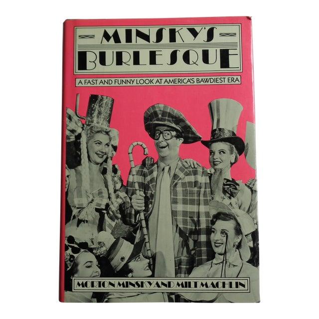 """Vintage """"Minsky's Burlesque"""" Bawdy Entertainment Book For Sale"""