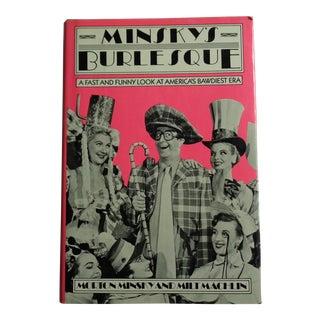 "Vintage ""Minsky's Burlesque"" Book"