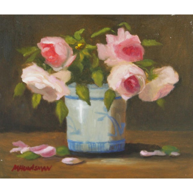 Floral Still Life Oil Painting - Image 1 of 2