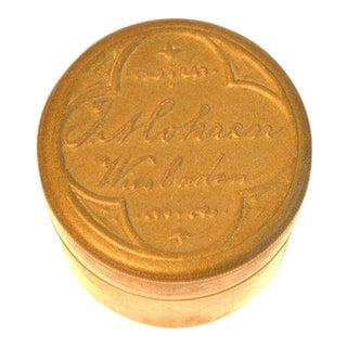 F. Mohren Dressing Table Brass Box