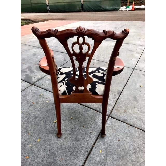 Chippendale Claw Foot and Ball Dining Chairs - Set of 8 - Image 4 of 9