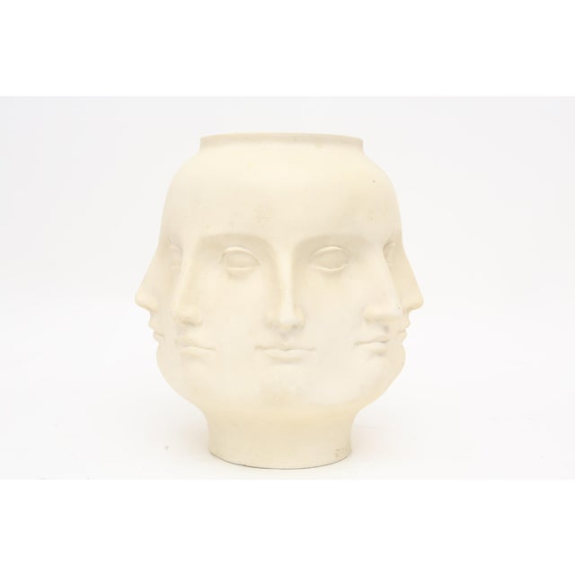 TMS 2005 White Fornasetti Style Perpetual Dora Mara Face Vase TMS 2005. Beautiful abstract perpetual face vase. Just a...