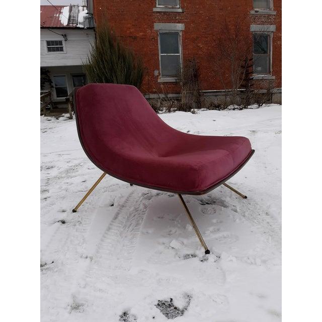 1950s Vintage A J Donahue Winnipeg Chair