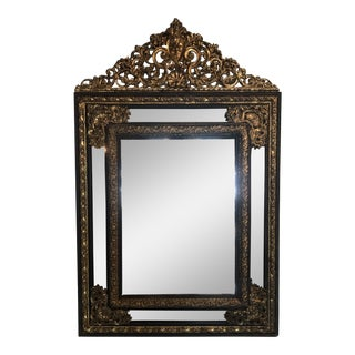 19th Century Dutch Baroque Mirror