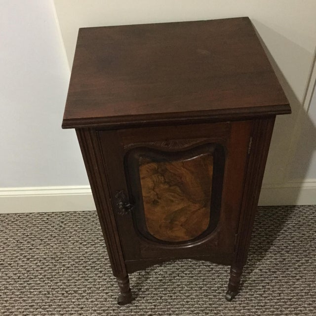 Antique Walnut Half Commode - Image 7 of 8