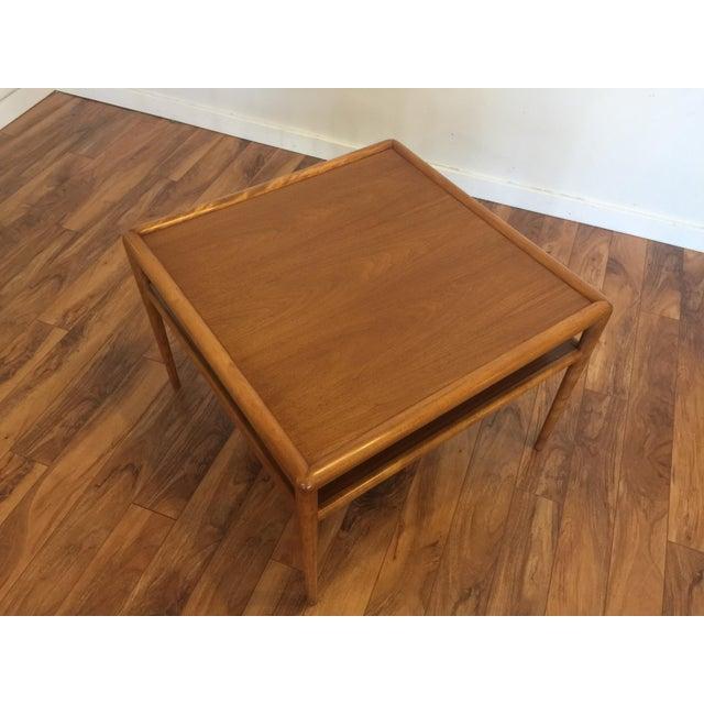 Brown T.H. Robsjohn-Gibbings for Widdicomb Square Table For Sale - Image 8 of 10