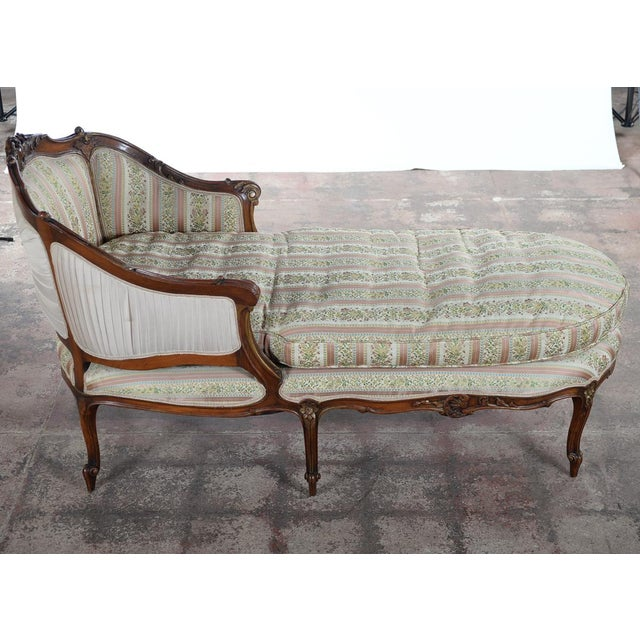 light lounge product mahogany provincial chaise cream french leather and
