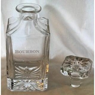 Neiman Marcus Godinger Etched Bourbon Decanter Preview