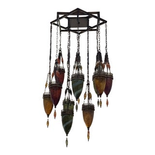 Scheherazade Pendant With Lanterns For Sale