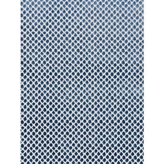 Traditional Scalamandre Etosha Velvet Jacquard, Bluestone For Sale - Image 3 of 3