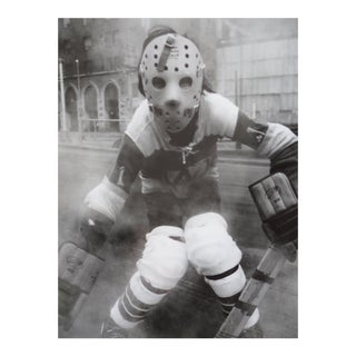 "Arthur Tress ""Hockey Player"" NYC 1972 Photograph For Sale"