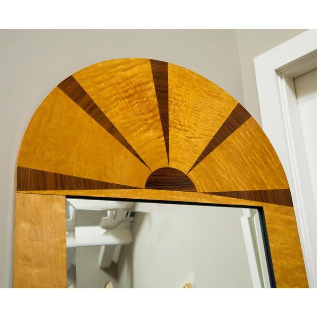 Early 20th Century Pair of Swedish Art Deco Mirrors, Early 20th c For Sale - Image 5 of 8