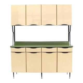 Mid-Century Italian Modern Kitchen Cabinet For Sale