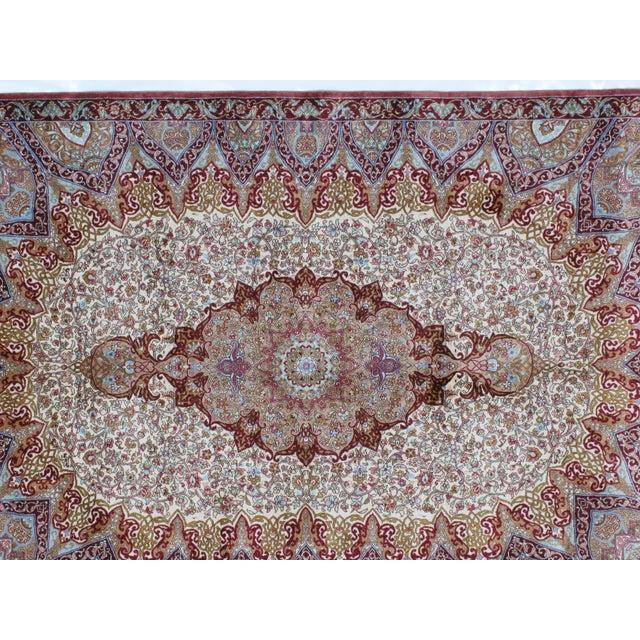 Sino Persian Silk Rug - 4' x 6' - Image 4 of 7