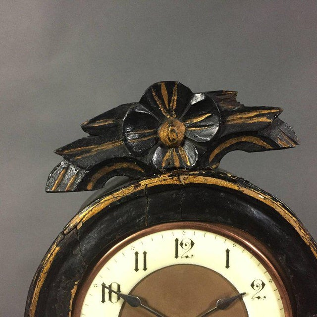 Late 19th Century 19th Century Swedish Tallcase Desktop Clock For Sale - Image 5 of 9