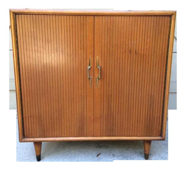 Mid Century Modern Lane Cedar Cabinet