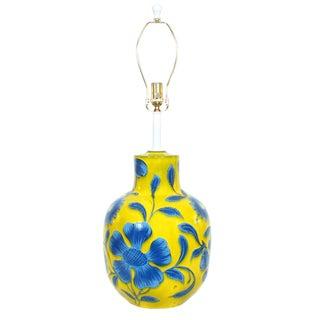 Alvino Bagni for Raymor Pottery Lamp For Sale