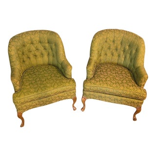 Vintage Club Chairs by Lane -A Pair For Sale
