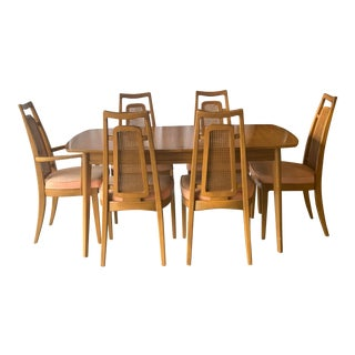 Drexel Heritage Meridian Butternut Dining Set - 7 Pieces For Sale