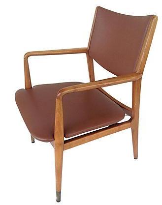 Mid Century Stow U0026 Davis Arm Chair For Sale