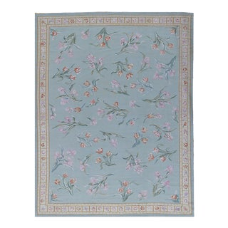 """Pasargad Aubusson Hand Woven Wool Rug - 9' 2"""" x 11'11"""""""