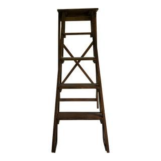 Boho Chic Global Views Architectural Folding Wood Ladder