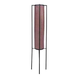 French 1960's Floor Lamp Attributed to Mathieu Mategot For Sale