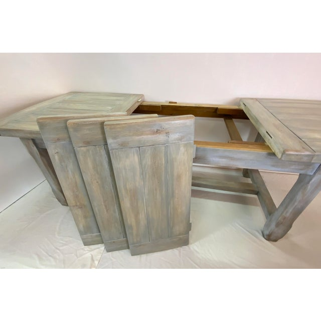 Christian Robert Farm Table With Two Leaves For Sale In Los Angeles - Image 6 of 13