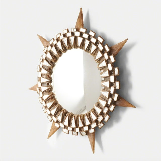 """Large """"Tudor"""" Mirror by Line Vautrin, 1955-1965 For Sale In San Francisco - Image 6 of 6"""