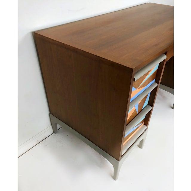 Lane Furniture 1960s Vintage Lane Furniture Mid-Century Modern Desk & Chair - 2 Pieces For Sale - Image 4 of 8