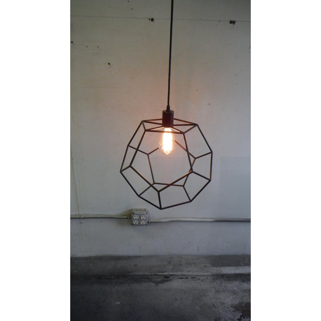 2010s Isocahedron Pendant For Sale - Image 5 of 5