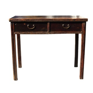 Antique Ming Desk Chinese Table with Two Drawers Preview