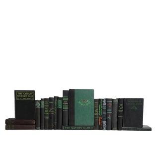 Emerald Nights : Set of Twenty Vintage Decorative Books For Sale