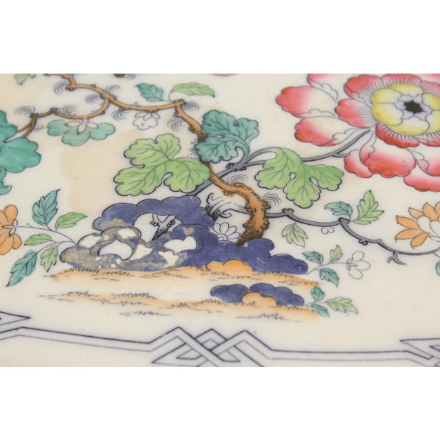 Late 19th Century 19th Century Ironstone Platter For Sale - Image 5 of 12