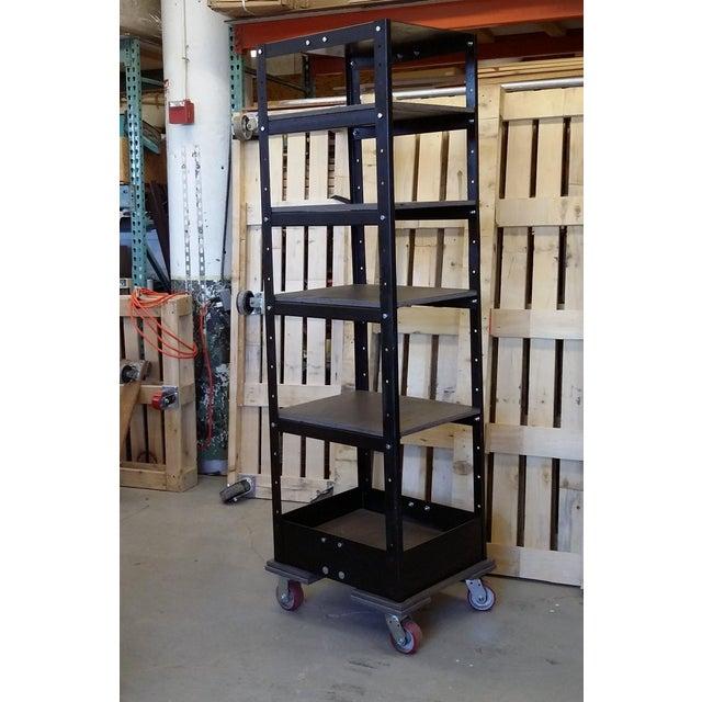Vintage Industrial Shelving Unit - Image 3 of 8