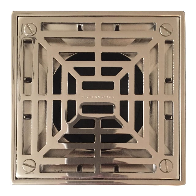 Waterworks Universal Shower Drain in Chrome For Sale
