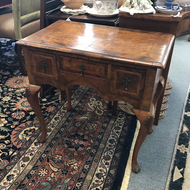 Queen Anne Walnut Lowboy For Sale In New York - Image 6 of 6