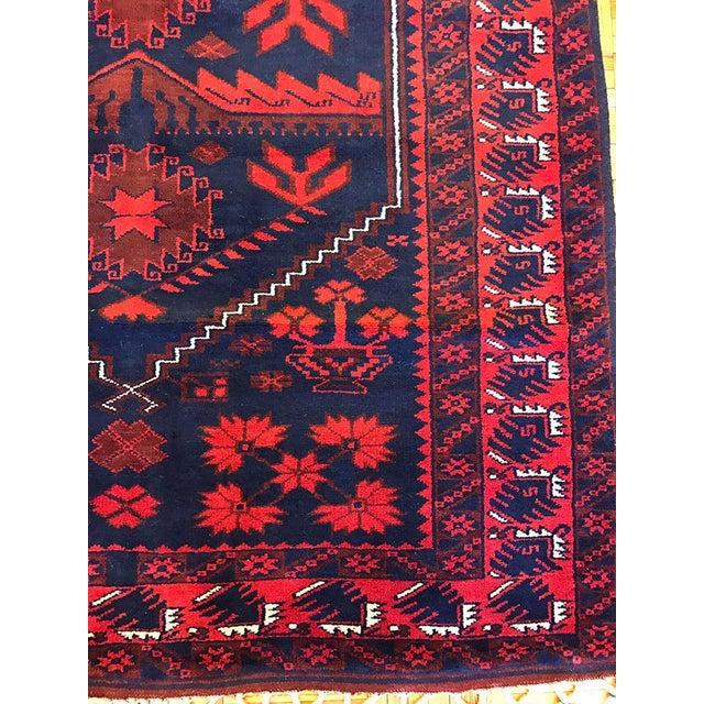 Antique Anatolian Bergama Wool Rug - 4'x6' - Image 3 of 6