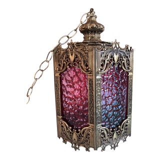 Gothic Multi-Colored Pane Pendant