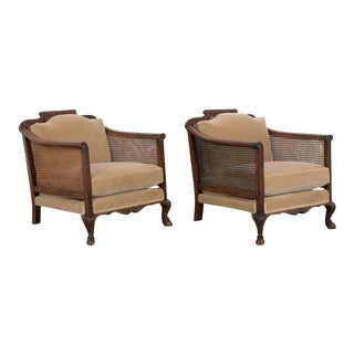 Set of French 19th Century Traditional Louis XIV Bergere For Sale